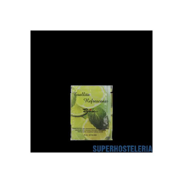 500 TOALLITA DE LIMON PAPEL 6X8 para restaurantes