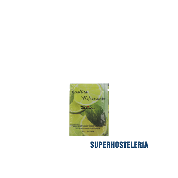 500 TOALLITA DE LIMON PAPEL 6X8 para restaurantes suministros hosteleros