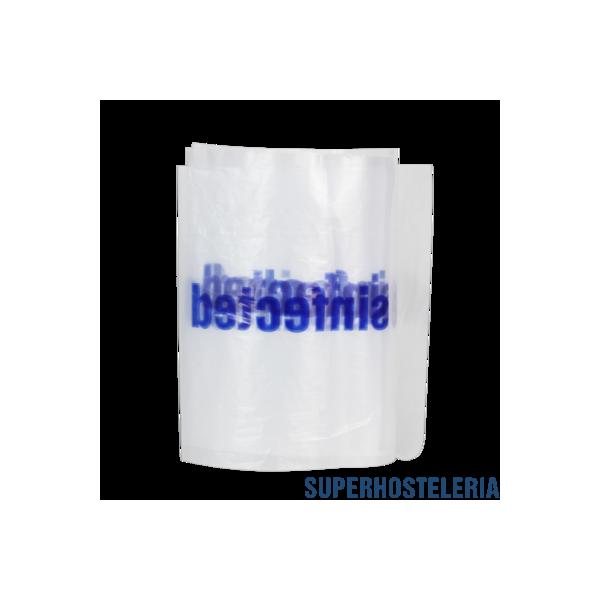 100 PRECINTO WC PLASTICO TIRA para hoteles suministros hosteleros