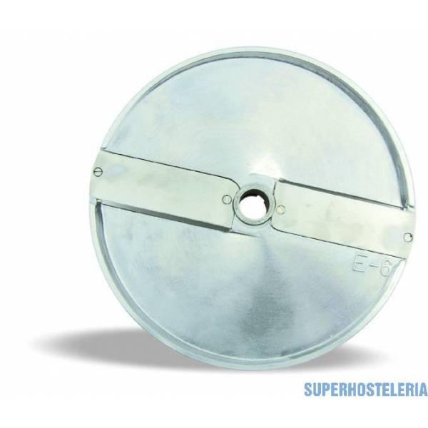 Disco Corte Rodaja Recta 4Mm Hortaliza E4