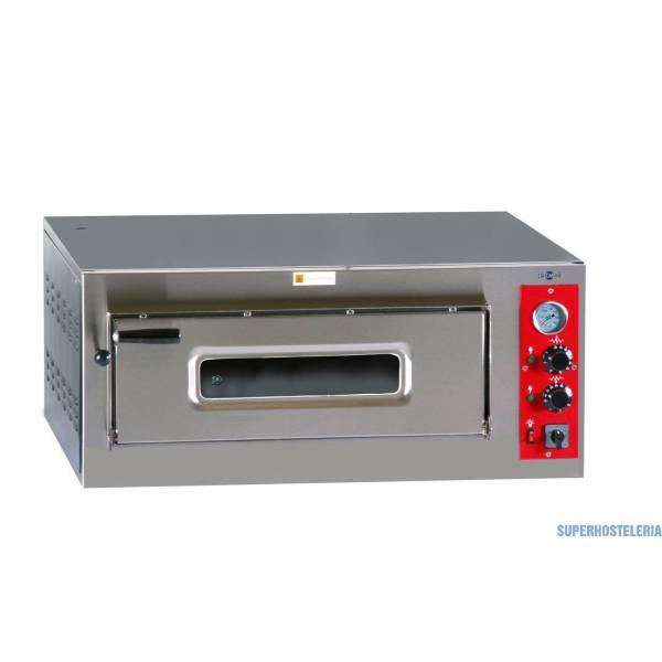 Horno Pizza Eléctrico Una Cámara Hp 6 Ø330mm   Trifásico  suministros hosteleros