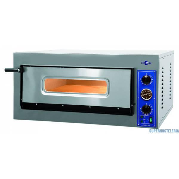 Horno Pizza Eléctrico Una Cámara P 4 360mm   Trifásico  suministros hosteleros