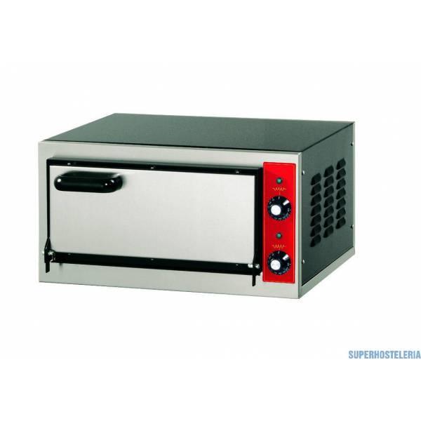 Horno Pizza Eléctrico Una Cámara P 1 Ø400mm   Monofásico suministros hosteleros