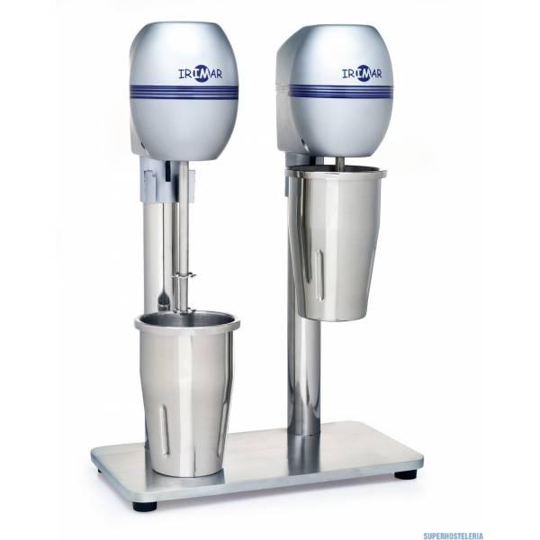 Batidor De Bebidas Doble Bbe D Metalizado
