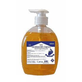 gel hidroalcohólico de manos 40 botellas dosificador de 400 ml