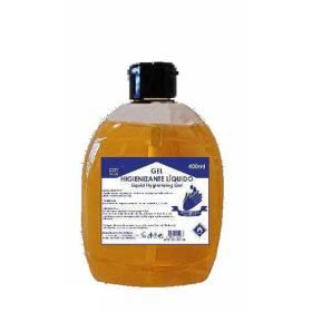 caja 40 gel hidroalcohólico de manos tapón bisagra de 400 ml