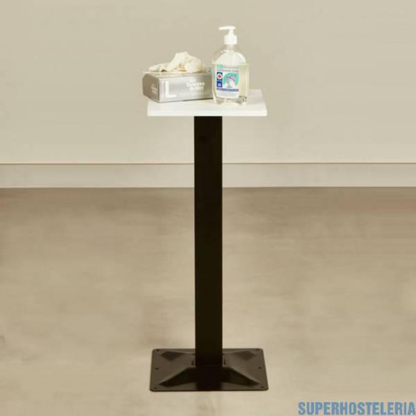 Mesa de recepción productos Anti Covid suministros hosteleros