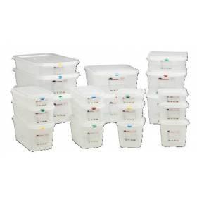 Cubetas Gastronorm de plástico Herméticas con tapa