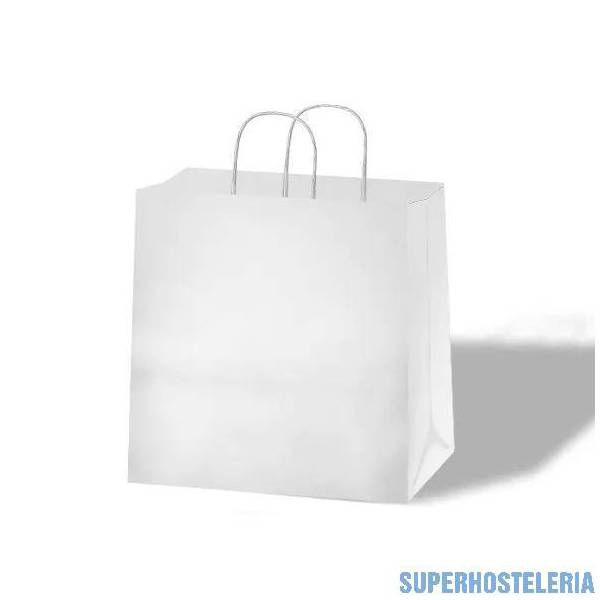 250 BOLSAS TAKE AWAY ASA RIZADA  28X16X29