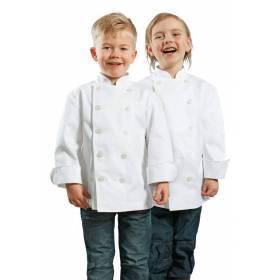Chaquetilla De Cocina Infantil Unisex Blanca Petit Chef