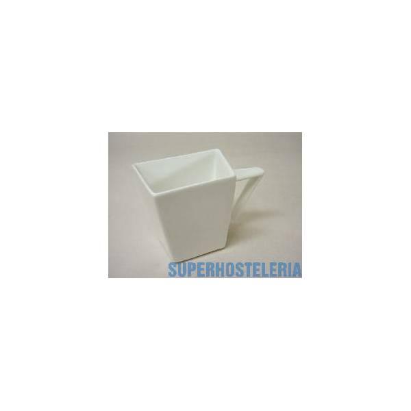 Lechera Recta Porcelana Blanco suministros hosteleros