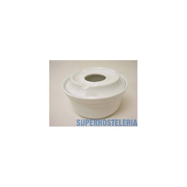 Cenicero De Agua Grande Porcelana Blanco