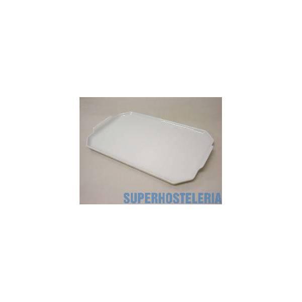 Bandeja Rectangular Porcelana Blanco suministros hosteleros