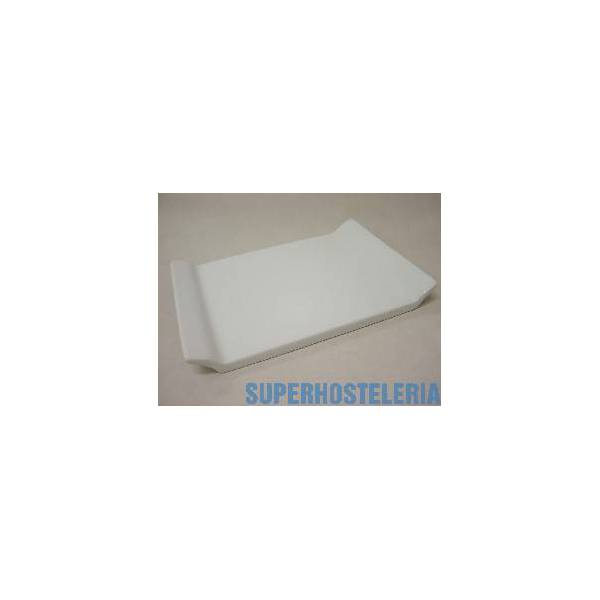 Bandeja Sushi Pequena Porcelana Blanco suministros hosteleros