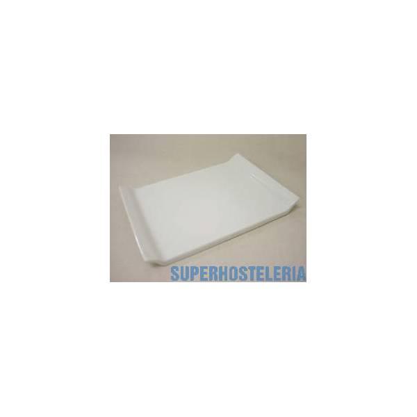 Bandeja Sushi Mediana Porcelana Blanco suministros hosteleros