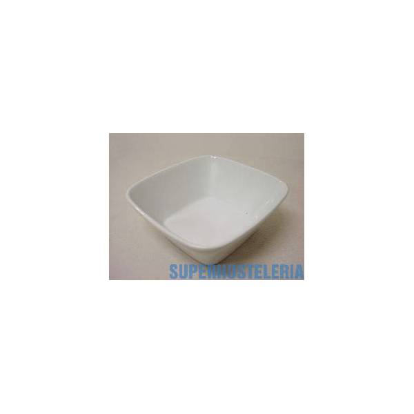 Bowl Reims Cuadrado Porcelana Blanco