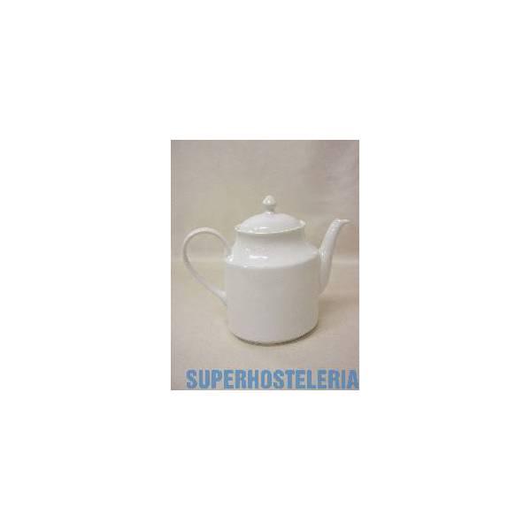 Cafetera Tetera Alta Porcelana Blanco