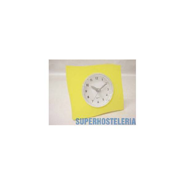 Reloj De Pie Grande Cuadrado Amarill suministros hosteleros