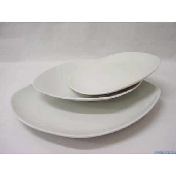 Vajilla 18 Piezas Semiredonda Porcelana Blanco suministros hosteleros
