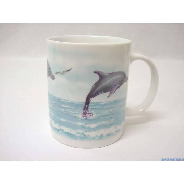 Taza Mug Recta 340Ml Delfin suministros hosteleros