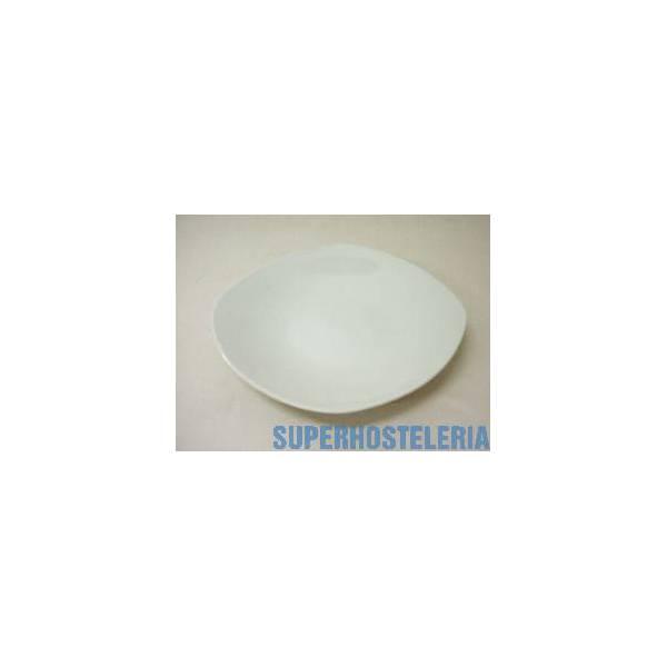 Plato Hondo Porcelana Blanco