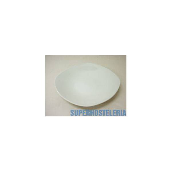 Plato Hondo Porcelana Blanco suministros hosteleros