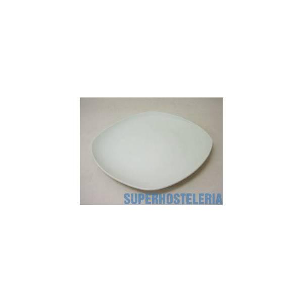 Plato Llano Porcelana Blanco suministros hosteleros