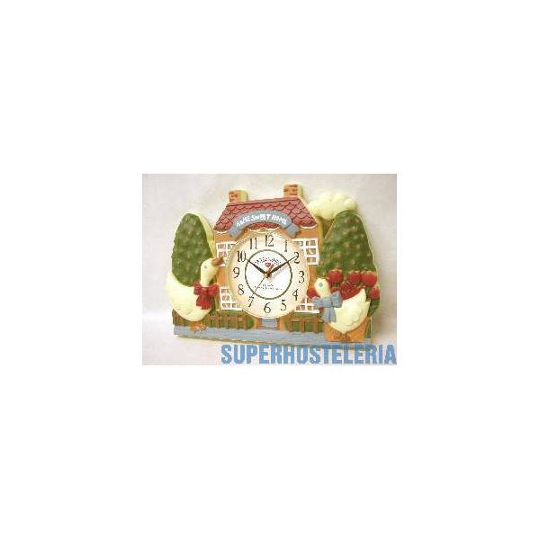 Reloj Plastico Patos Casa Infantil suministros hosteleros