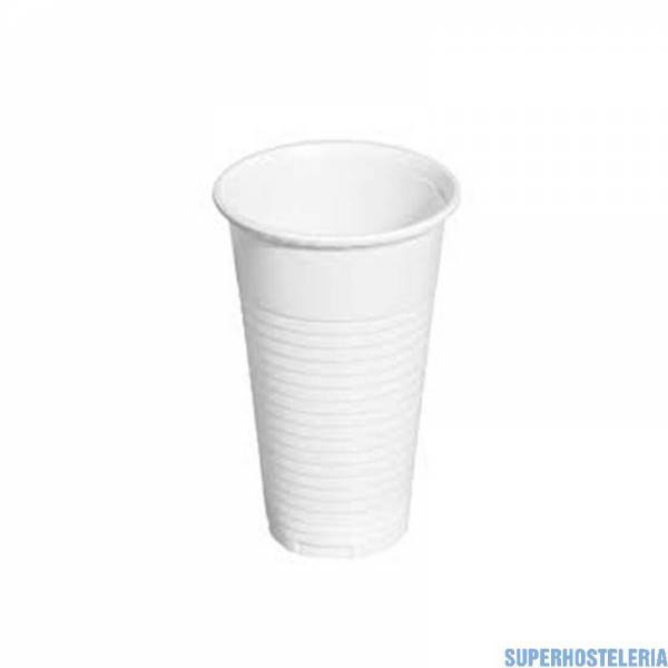 Bolsa 100 vasos de plástico de 220 cc suministros hosteleros